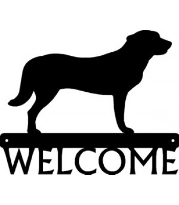 Anatolian Shepherd Dog Welcome Sign