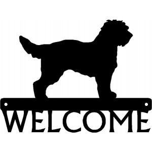 Cockapoo Dog Welcome Sign