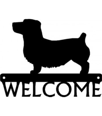 Glen of Imaal Terrier Dog Welcome Sign