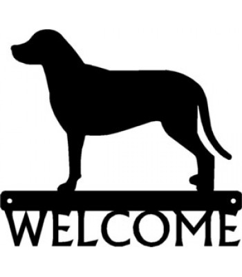 Greater Swiss Mountain Dog - Dog Welcome Sign