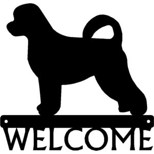 Portuguese Water Dog - Dog Welcome Sign