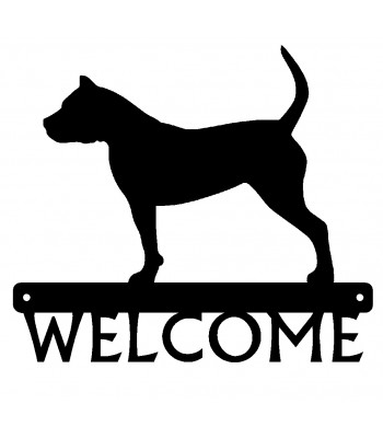 Presa Canario Dog Welcome Sign
