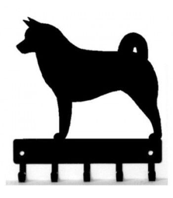 Akita Dog Key Rack/ Leash Hanger