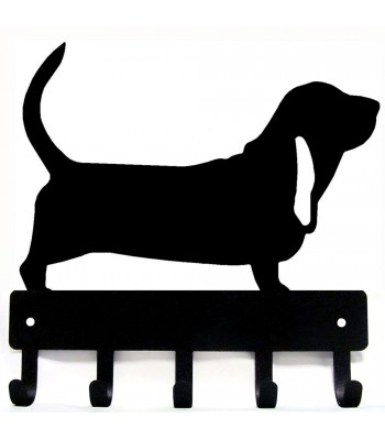 Basset Hound Dog Key Rack/ Leash Hanger