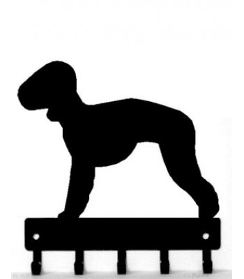 Bedlington Terrier Dog Key Rack/ Leash Hanger