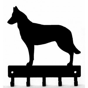 Belgian Malinois Dog Key Rack/ Leash Hanger