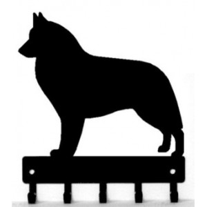Belgian Sheepdog / Groenendael Dog Key Rack/ Leash Hanger
