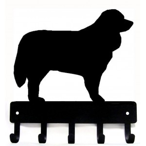 Bernese Mountain Dog Dog Key Rack/ Leash Hanger