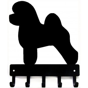Bichon Frise Dog Key Rack/ Leash Hanger