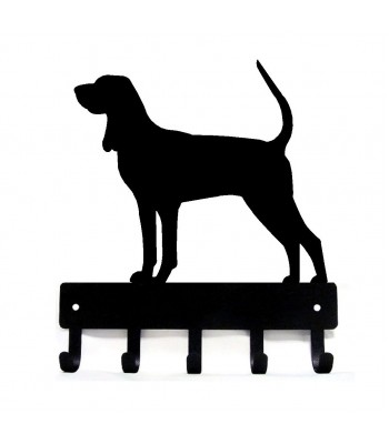 Coonhound Dog Key Rack/ Leash Hanger