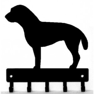 Border Terrier Dog Key Rack/ Leash Hanger