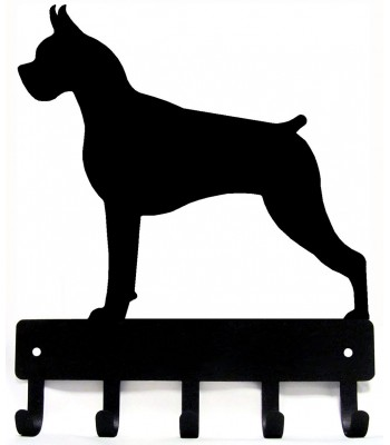 Boxer Dog Key Rack/ Leash Hanger