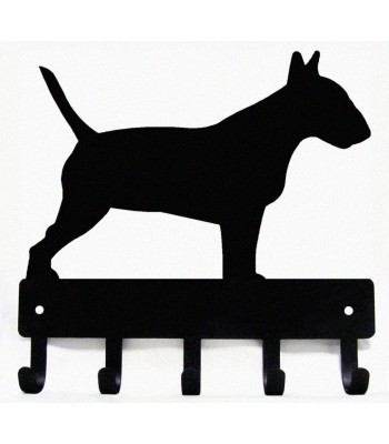 Bull Terrier Dog Key Rack/ Leash Hanger