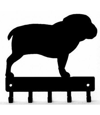 Bulldog Dog Key Rack/ Leash Hanger