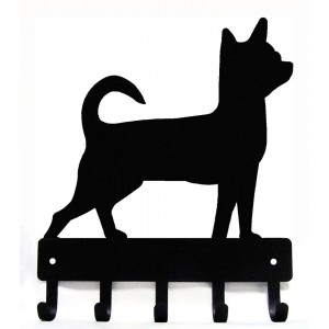 Chihuahua Dog Key Rack/ Leash Hanger