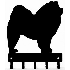 Chow Chow  Dog Key Rack/ Leash Hanger