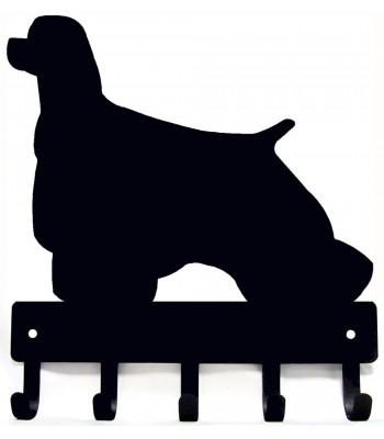 Cocker Spaniel Dog Key Rack/ Leash Hanger