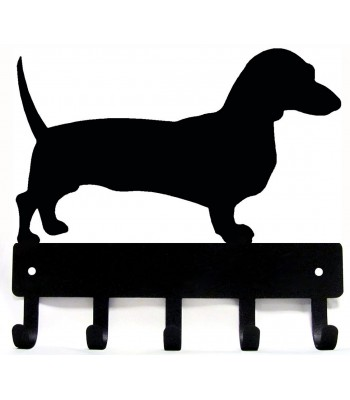 Dachshund Dog Key/ Leash Hanger