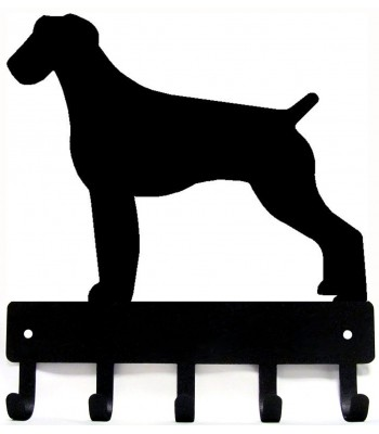 German Wirehaired PointerDog Key Rack/ Leash Hanger