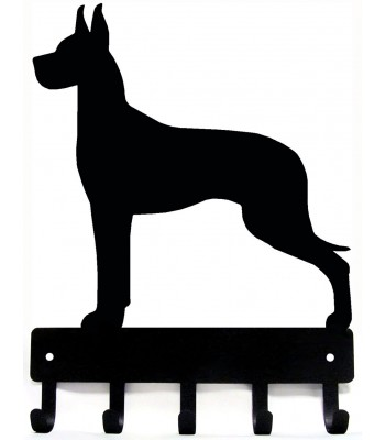 Great Dane Dog Key Rack/ Leash Hanger