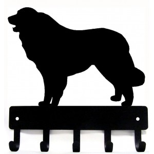 Great Pyrenees Dog Key Rack/ Leash Hanger