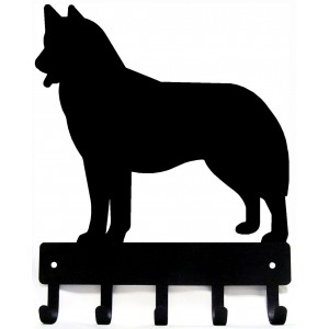 Husky Dog Key Rack/ Leash Hanger