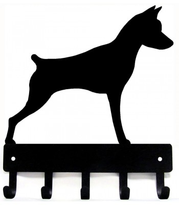 Miniature Pinscher Dog Key Rack/ Leash Hanger