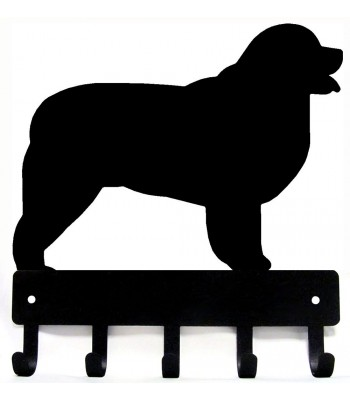 Newfoundland Dog Key Rack/ Leash Hanger