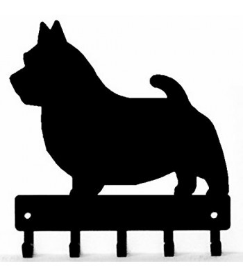 Norwich Terrier Dog Key Rack/ Leash Hanger