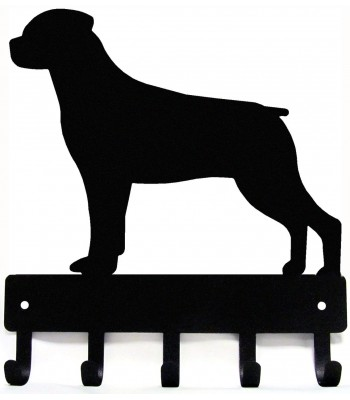Rottweiler Dog Key Rack/ Leash Hanger