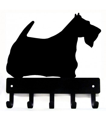 Scottish Terrier Dog Key Rack/ Leash Hanger
