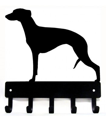 Whippet Dog Key Rack/ Leash Hanger