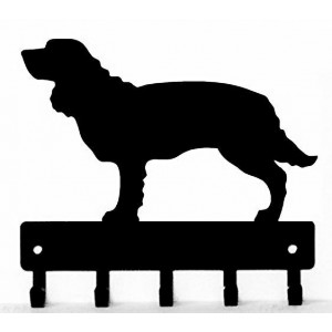 American Water Spaniel Dog Key Rack/ Leash Hanger