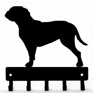 Doque de Bordeaux Dog Key Rack/ Leash Hanger