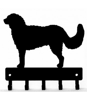 Goldendoodle Dog Key Rack/ Leash Hanger