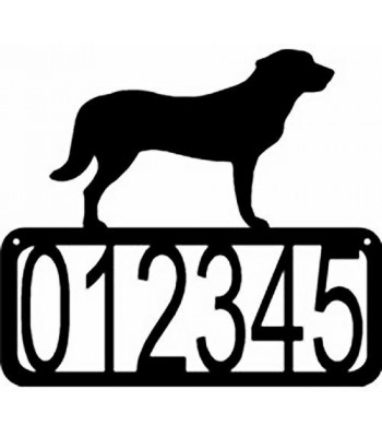Anatolian Shepherd Dog House Address Sign