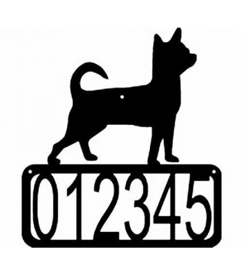 Chihuahua Dog House Address Sign