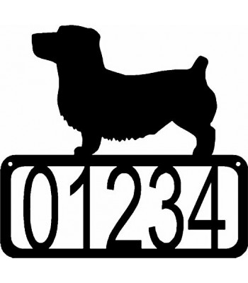 Glen of Imaal Terrier  Dog House Address Sign
