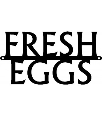 Chicken Sign - Fresh Eggs