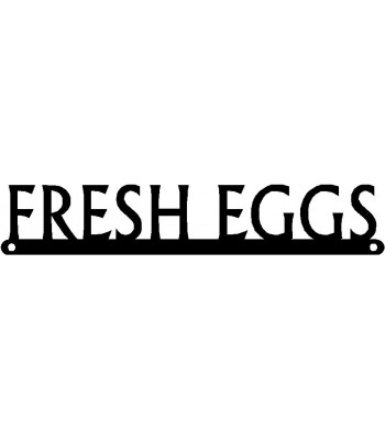 Chicken Sign - Fresh Eggs - Slim