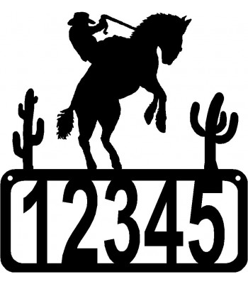 Bronco 2 House Address Sign