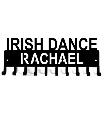 Personalized Irish Dance Medal Rack Display