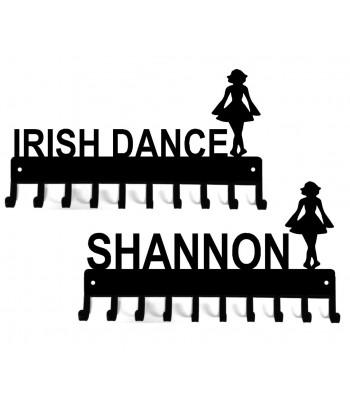 Irish Dance Medal Rack Organizer - Female