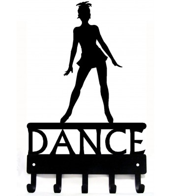 Dance Medal Hanger / Key Rack - Jazz Dancer