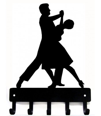 Dance Medal Hanger / Key Rack - Ballroom Dancers Couple