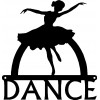 Dance Art Sign - Ballerina Dancer Wall Art