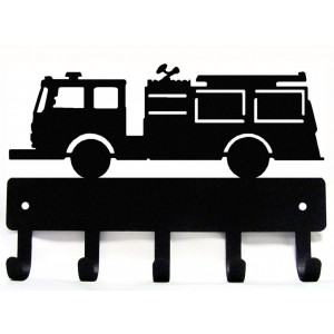 Fire Truck/ Fire Engine - Key Rack