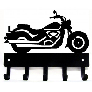 Motorcycle #12 Cruiser Style  - Key Rack