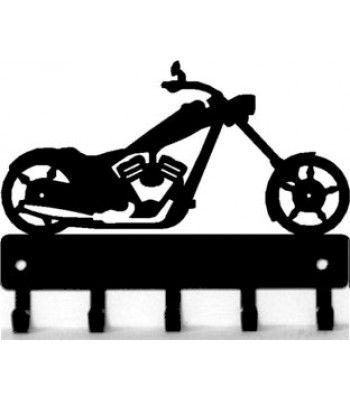 Motorcycle #02 Chopper - Key Rack