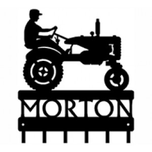 Personalized Tractor  - Key Rack
